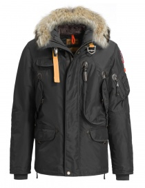 Mens jackets online: Parajumpers Right Hand anthracite jacket