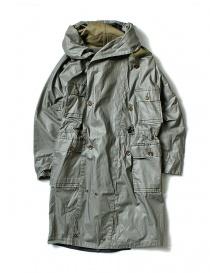 Kapital army twill oil green gray parka K1603LJ027-GRK order online