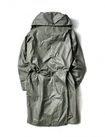 Kapital army twill oil green gray parka