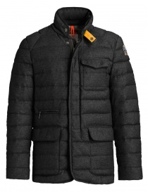 Parajumpers Leslie black melange down jacket