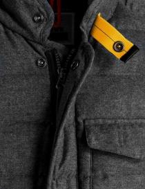 Parajumpers Leslie black melange down jacket