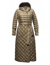 Womens jackets online: 'S Max Mara Trefl gold camel goose down jacket