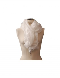 Sciarpa as know as colore bianco 957 ZV0080 W order online