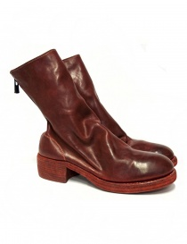 Red leather Guidi 788Z ankle boots 788Z-SOFT-HORSE-FG-1 order online