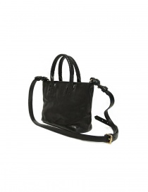 Cornelian Taurus by Daisuke Iwanaga black leather small bag