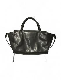 Delle Cose style 750 asphalt leather bag 750-HORSE-POLISH-ASF order online