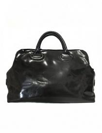 Delle Cose style 13 asphalt leather bag