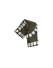 Sciarpe online: Foulard Julien David colore khaki