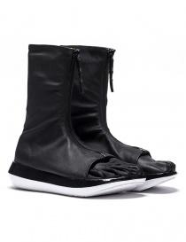 Stivaletto Arthur Arbesser per Vibram modello Damiel colore nero/bianco A17A103-ZIP-BLK-BLK-WHITE order online