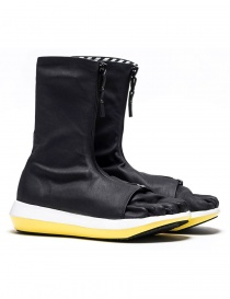 Arthur Arbesser for Vibram ankle boots style Damiel black/yellow color A17A102-ZIP-BLK-WHITE-YEL order online