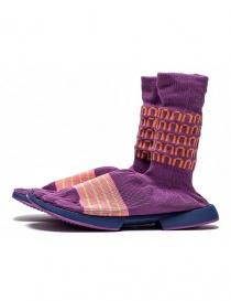 Arthur Arbesser for Vibram ankle boots style Cassiel violet color