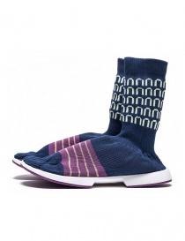 copy of Arthur Arbesser for Vibram ankle boots style Cassiel blue color