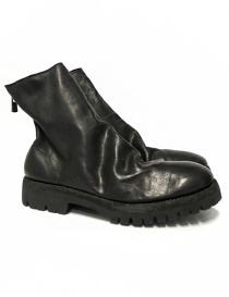 Calzature uomo online: Stivaletto Guidi 796V in pelle di vitellino nera
