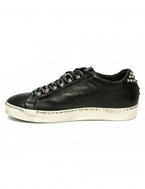 Leather Crown Iconic men's black sneakers