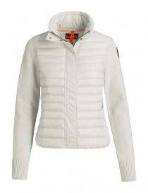 Parajumpers Cheney chalk cardigan jacket PWKNIKN34-CHENEY-W770 order online