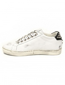 Leather Crown Iconic men's white/black sneakers