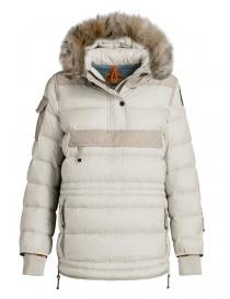 Womens jackets online: Parajumpers Joyce chalk anorak jacket