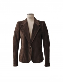 Womens suit jackets online: Kolor jacket in brown colour