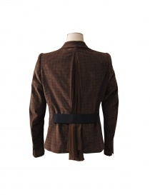 Kolor jacket in brown colour