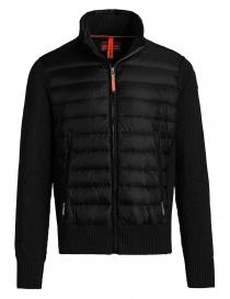 Parajumpers Takuji black melange cardigan jacket PMKNIKN01-TAKUJI-M597 order online