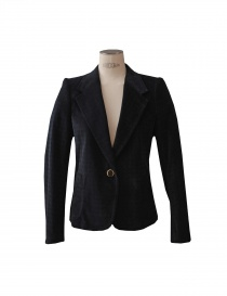 Womens suit jackets online: Kolor jacket in blue colour
