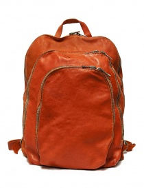 Guidi DBP04 orange leather backpack DBP04-SOFT-HORSE-CV21T order online