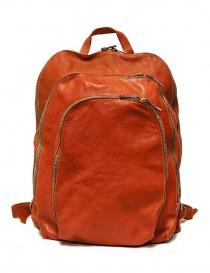 Zaino Guidi DBP04 in pelle colore arancione DBP04-SOFT-HORSE-CV21T order online