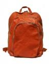 Zaino Guidi DBP04 in pelle colore arancione acquista online DBP04-SOFT-HORSE-CV21T