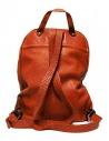 Zaino Guidi DBP04 in pelle colore arancione DBP04-SOFT-HORSE-CV21T prezzo