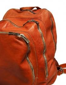 Zaino Guidi DBP04 in pelle colore arancione borse acquista online