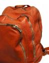 Zaino Guidi DBP04 in pelle colore arancione DBP04-SOFT-HORSE-CV21T acquista online