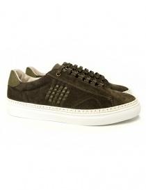 Sneakers Be Positive Anniversary colore verde scuro 7FARIA02-FIL-MIL order online