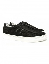 Be Positive Anniversary black sneakers 7FARIA02-LEA-BLK order online