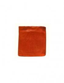 Portafoglio Guidi + Barny Nakhle B7 in pelle arancione B7-SOFT-HORSE-FG-WAL order online