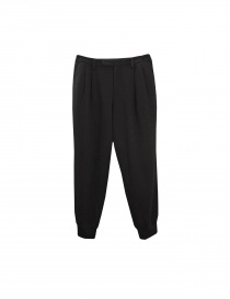 Pantalone Kolor in colore nero P03203 B order online