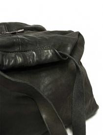 Borsa Guidi SA04 in pelle colore grigio scuro borse acquista online