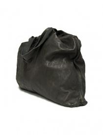 Borsa Guidi SA04 in pelle colore grigio scuro
