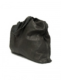 Guidi SA04 dark grey color leather bag
