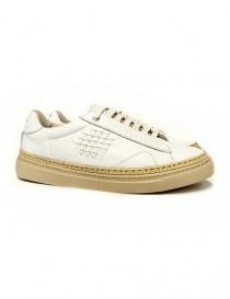 Sneakers Be Positive Anniversary colore bianco e beige 7FWOARIA02-LEA-WBE order online
