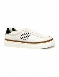 Be Positive Anniversary white sneakers (woman) 7FWOARIA01-LEA-WBN order online