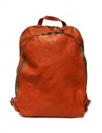 Guidi DBP06 orange leather backpack DBP06-SOFT-HORSE--CV21T order online