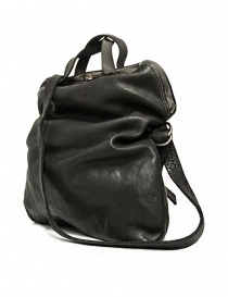 Guidi + Barny Nakhle B1dark grey color leather bag