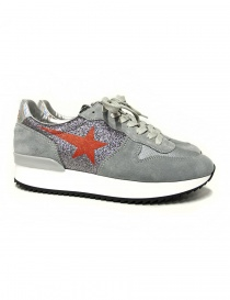 Golden Goose Haus glittered sneakers W31WS364-C6-31HV order online