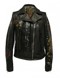 Giacca in pelle Rude Riders con frange P95450-22176 order online