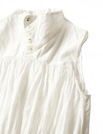 Camicia smanicata Kapital colore bianco