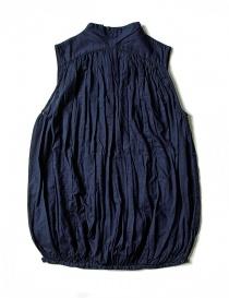 Camicia smanicata Kapital colore blu