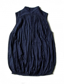 Kapital sleeveless blue shirt