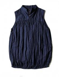 Camicia smanicata Kapital colore blu K1704SS187-SHIRT-NAVY order online