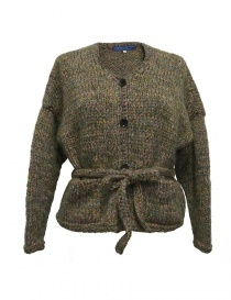 Hiromi Tsuyoshi green wool cardigan RW17-012-D-SSORTED order online