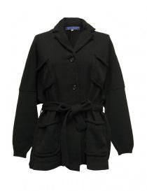 Giacca Hiromi Tsuyoshi colore nero RW17-006 BLACK order online